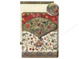 Punch Studio Pocket Note Pad Glitter Asian Fan