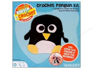Colorbok Learn To Kit Crochet Penguin
