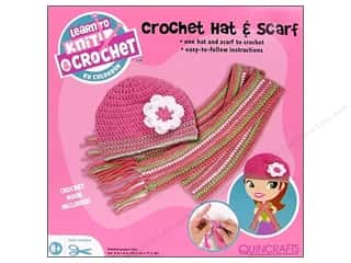 Colorbok Learn To Kit Crochet Hat & Scarf