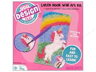 Colorbok You Design It Kit Latch Hook Wall Art