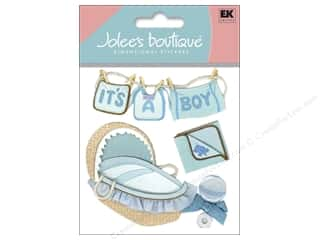 Jolee&#39;s Boutique Stickers Boy Clothes Line