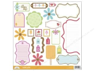 Doodlebug Cute Cuts Die Cut Summertime