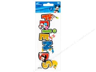 Stickers $3 - $4: EK Disney Sticker 3D Friends
