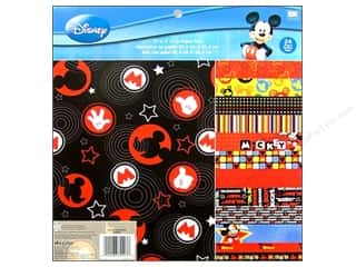 "EK Success Licensed Products: EK Paper Pad 12""x 12"" Disney Mickey"