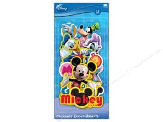 Mickey: EK Chipboard Disney Mickey Friends