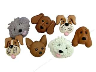 Pets Sewing & Quilting: Jesse James Dress It Up Embellishments Fuzzy Faces