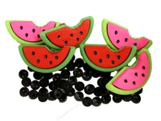 Jesse James Buttons Bulk & Cover Buttons: Jesse James Dress It Up Embellishments Watermelons