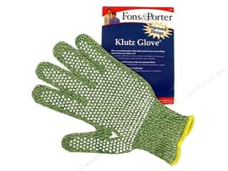 Brazabra Corp Sight Enhancers & Body Therapeutics: Fons & Porter's Klutz Glove Medium