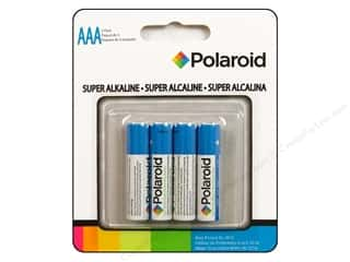 Batteries: Polaroid Super Alkaline Batteries Super AAA 4pc