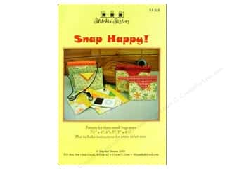 Happy Lines Gifts $4 - $6: Stitchin Sisters Snap Happy Pattern