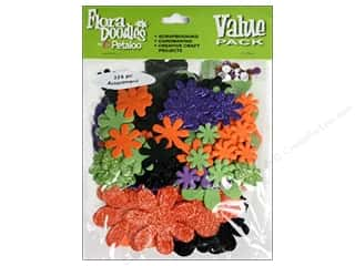 Petaloo FloraDoodles VP Glitter Orng/Purpl/Blk/Grn
