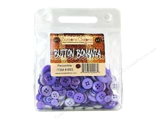 Buttons Galore Button Bonanza 1/2 lb. Periwinkle