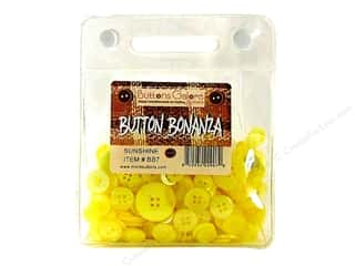 Buttons Galore Button Bonanza 8oz Sunshine