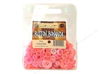 Sew-on Buttons: Buttons Galore Button Bonanza 1/2 lb. Pink