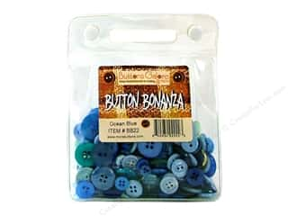 Buttons Galore Button Bonanza 8oz Ocean Blue