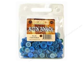 "Guidelines 4 Quilting 24"": Buttons Galore Button Bonanza 1/2 lb. Blue"
