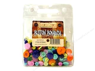 Buttons Galore Button Bonanza 1/2 lb. Rainbow