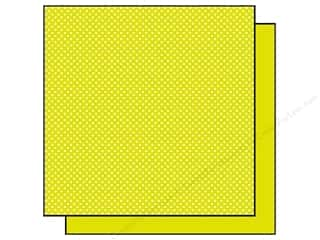 Best Creation 12 x 12 in. Paper Basic Glitter Dot Kiwi (25 sheets)
