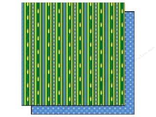 Best Creation Paper 12x12 Back School DoodleStripe (25 sheets)