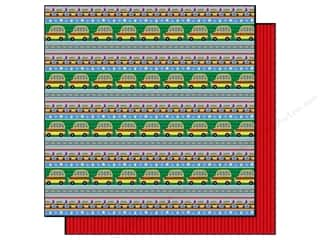 Best Creation Paper 12x12 Back School Wheels Bus (25 sheets)