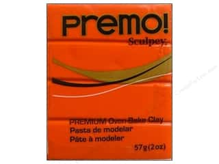 Sculpey Premo: Premo! Sculpey Polymer Clay 2 oz. Orange
