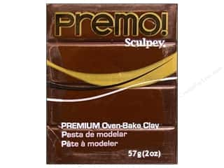 Office Brown: Premo! Sculpey Polymer Clay 2 oz. Burnt Umber