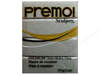 Premo Polymer Clay 2oz Silver