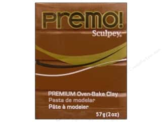 Premo Polymer Clay 2oz Raw Sienna 2oz