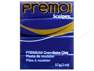 Clay Blue: Premo! Sculpey Polymer Clay 2 oz. Ultra Blue