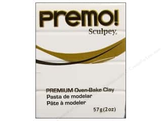Sculpey Original Clay: Premo! Sculpey Polymer Clay 2 oz. White