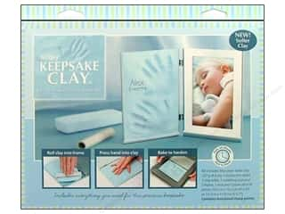 Clay & Modeling Baby: Sculpey Keepsake Frame Sets Clay Kit Pale Blue
