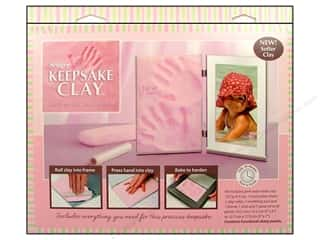Clay & Modeling Baby: Sculpey Keepsake Frame Sets Clay Kit Pale Pink