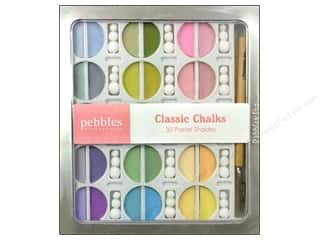 Scrapbooking & Paper Crafts: Pebbles Chalk Set Pastel