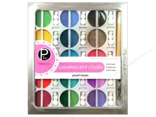 Pebbles Inc Chalk: Pebbles Chalk Set Jewel Tone