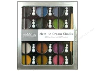 Pebbles Chalk Set Metallic Cream