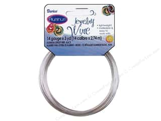 Beading & Jewelry Making Supplies Darice Jewelry Wire Aluminum: Darice Jewelry Wire Aluminum 14Ga Silver 3yd