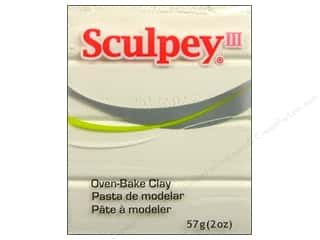 Clay Art Accessories: Sculpey III Clay 2 oz. White