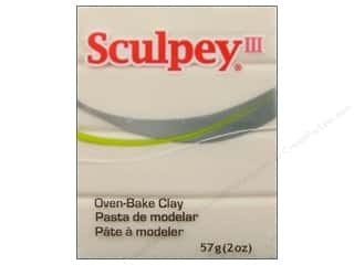 fall sale sculpey: Sculpey III Clay 2oz Translucent
