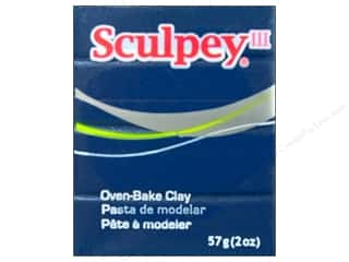 Clay Blue: Sculpey III Clay 2 oz. Blue Pearl
