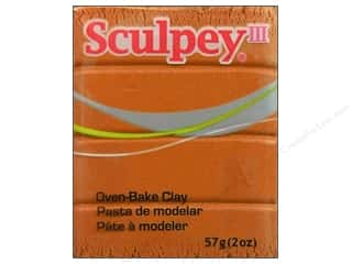 Clay Art Accessories: Sculpey III Clay 2 oz. Gold