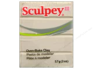 Sculpey Clay Crafting Books: Sculpey III Clay 2 oz. Pearl