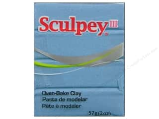 Clay Art Accessories: Sculpey III Clay 2 oz. Light Blue Pearl