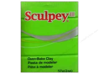 Sculpey III Clay 2oz Granny Smith
