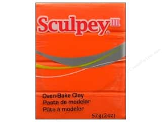Sculpey III Clay 2oz Just Orange