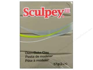Sculpey III Clay 2 oz. Elephant Grey