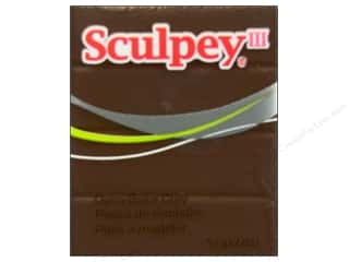Sculpey Brown: Sculpey III Clay 2 oz. Hazelnut