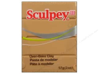 Clay Art Accessories: Sculpey III Clay 2 oz. Tan