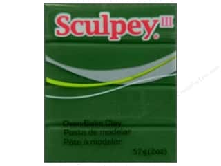 Clay & Modeling Sculpey III Clay: Sculpey III Clay 2 oz. Leaf Green