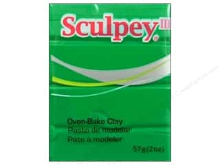 Clay Art Accessories: Sculpey III Clay 2 oz. Emerald