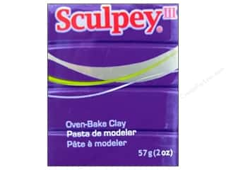 Sculpey: Sculpey III Clay 2oz Purple
